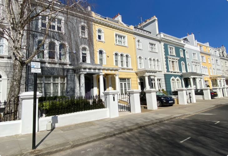 sell-your-property row-wise-houses-in-notting-hill-london - Tempocasa